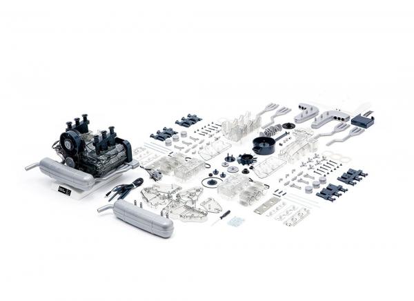 Motor Porsche boxer 6 cilindri - kit DIY 8