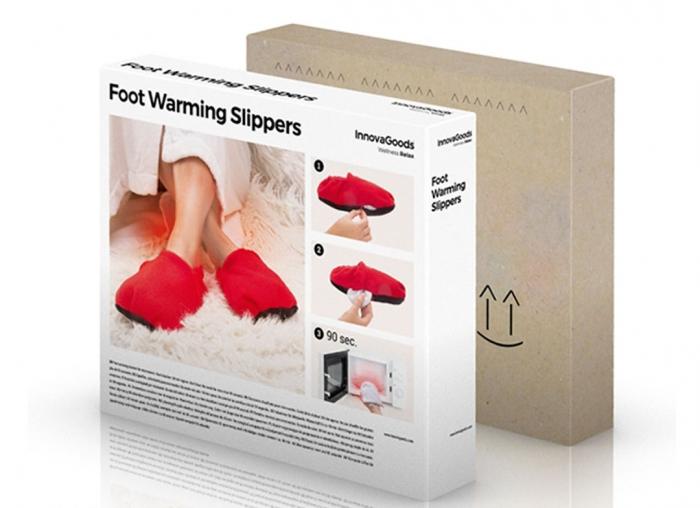 Papuci cu incalzire la microunde 2