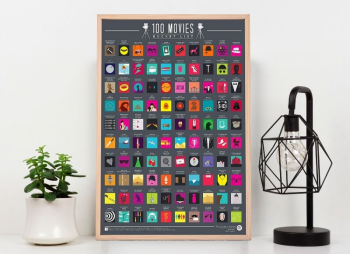 Poster razuibil 100 Filme de vazut 0