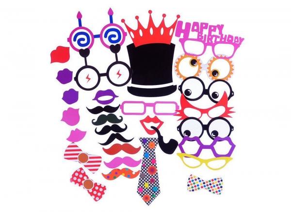 Propsuri amuzante petrecere Funny Face 31 5