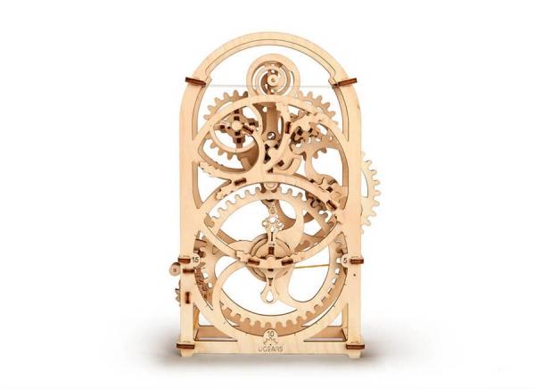 Puzzle 3D Cronometru Ugears 6