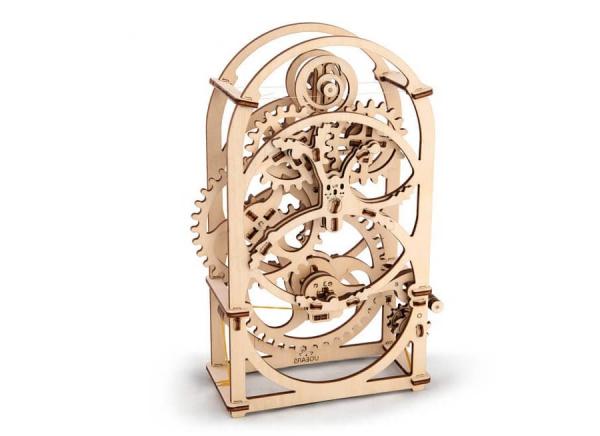 Puzzle 3D Cronometru Ugears 7