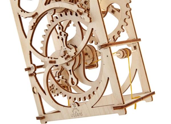 Puzzle 3D Cronometru Ugears 5