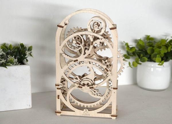 Puzzle 3D Cronometru Ugears 1