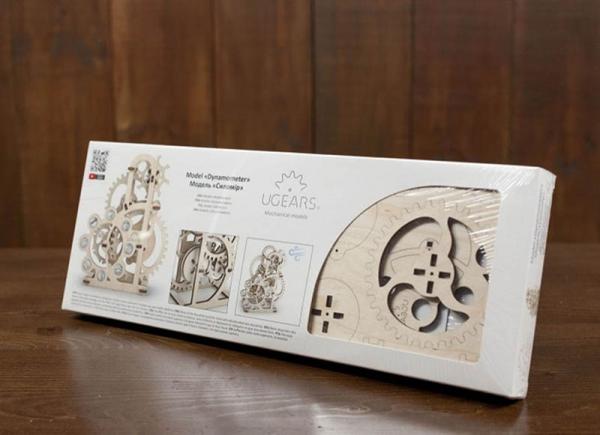 Puzzle 3D Dinamometru din Lemn Ugears 9