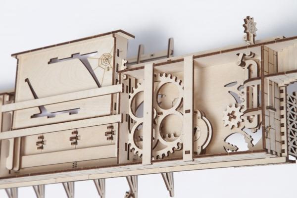 Puzzle 3D Gara din Lemn Ugears [12]