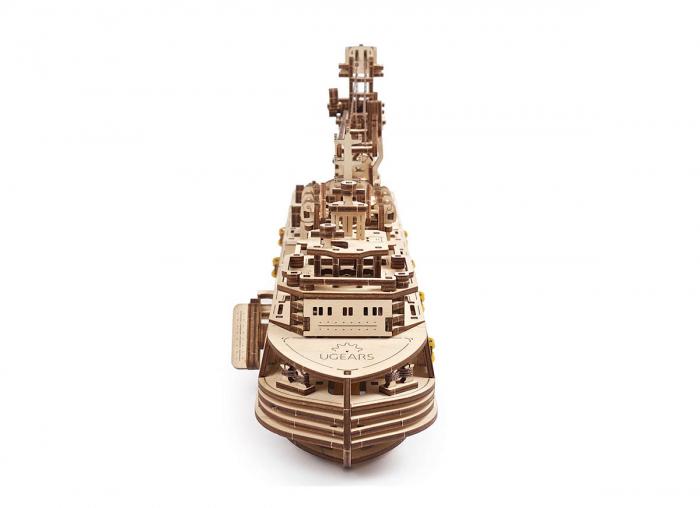 Puzzle 3D Nava de cercetare din lemn Ugears 3