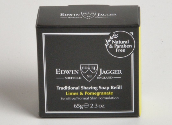 Sapun pentru barbierit Limes & Pomegranate 65G, Edwin Jagger 2