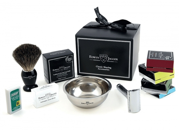 Set cadou barbati My first shaving kit, Edwin Jagger 2