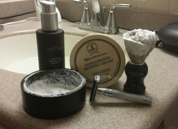Set cadou barbati My first shaving kit, Edwin Jagger 0
