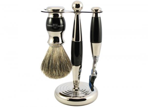 Set cadou barbati pentru barbierit 3 piese Light Horn Fusion Proglide, Edwin Jagger 5