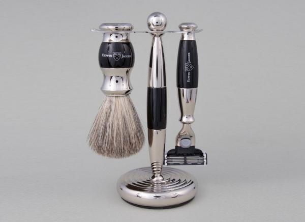 Set cadou barbati pentru barbierit 3 piese Light Horn Fusion Proglide, Edwin Jagger 1