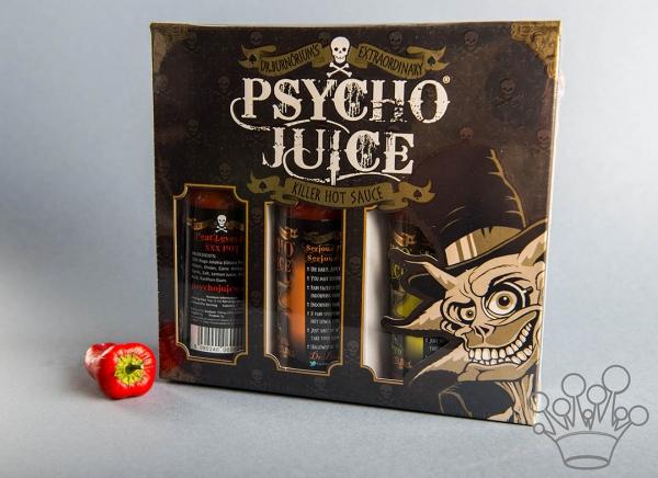 Set 3 Sosuri extrem de picante Psycho Juice 2