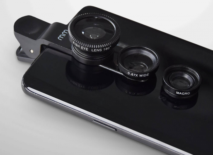 Obiectiv telefon 3 in 1, universal 0