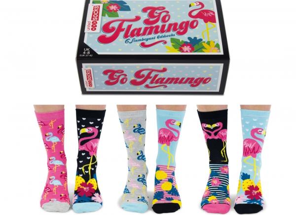 Set 6 Sosete Flamingo 4