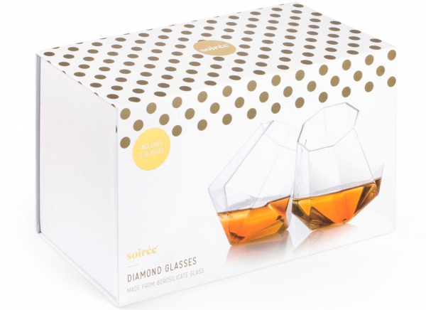 Set Pahare whisky Diamant 8
