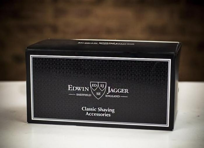 Set cadou de calatorie cu Aparat de Ras cromat cu lama Gillette Fusion Proglide Edwin Jagger 8