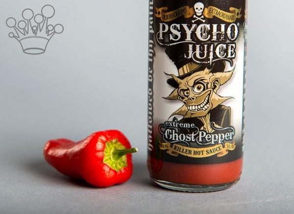 Sos iute Psycho Juice Extreme Ghost Pepper [iuteala 10+++] 0