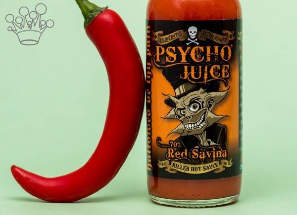 Sos picant Psycho Juice Red Savina Pepper [iuteala 9] 2