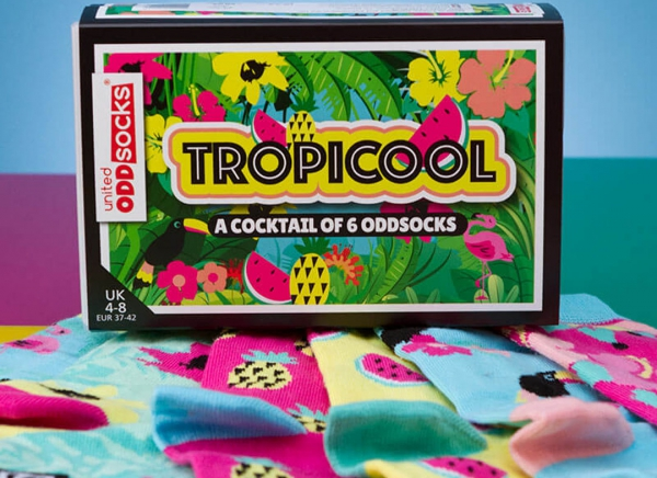 Set 6 Sosete cu Design Tropical 7