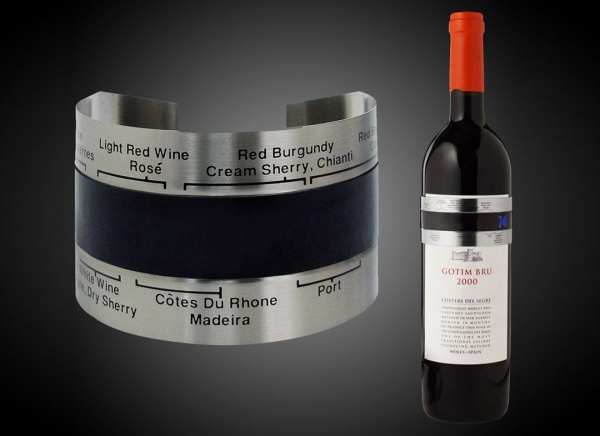 Termometru sticla vin 0