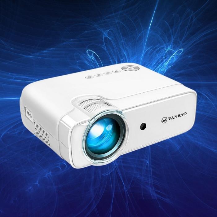 Videoproiector LED Vankyo Leisure 430, 4000 Lumeni, Geanta transport si telecomanda 0