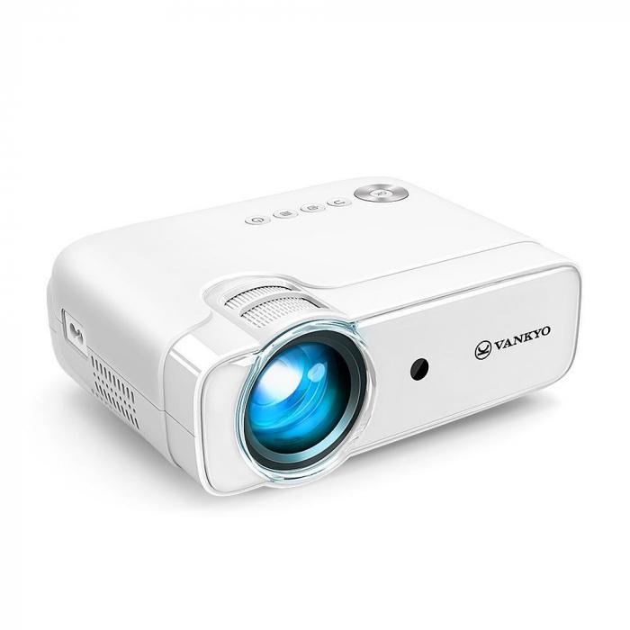 Videoproiector LED Vankyo Leisure 430, 4000 Lumeni, Geanta transport si telecomanda 9