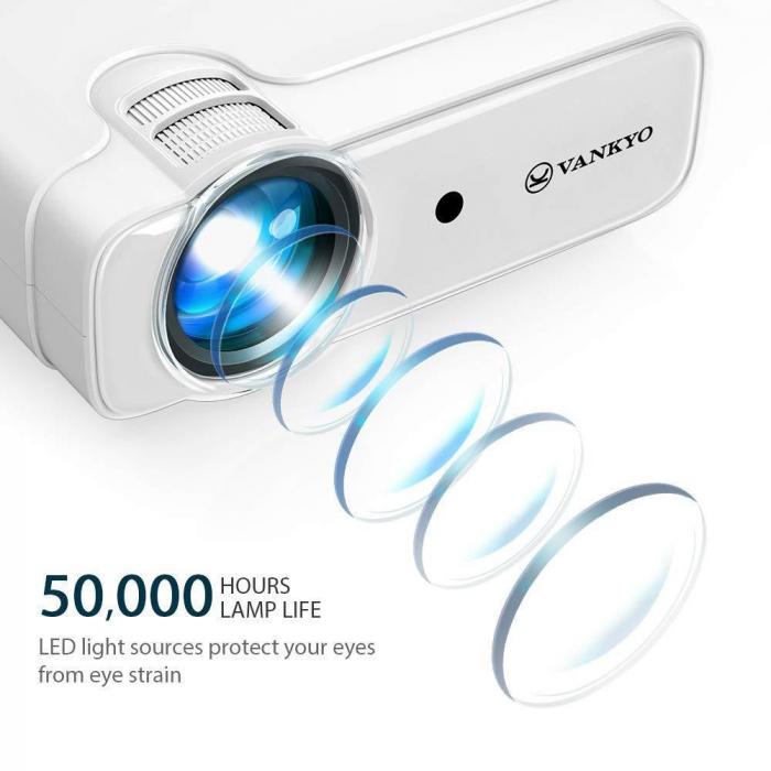 Videoproiector LED Vankyo Leisure 430, 4000 Lumeni, Geanta transport si telecomanda 7