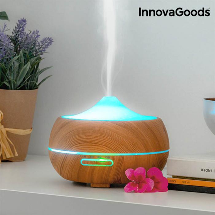Difuzor uleiuri esentiale cu 15 moduri iluminare 2