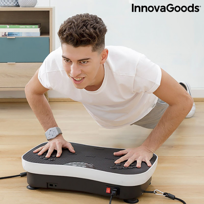 Aparat fitness cu placa vibranta, VYBEFORM 3