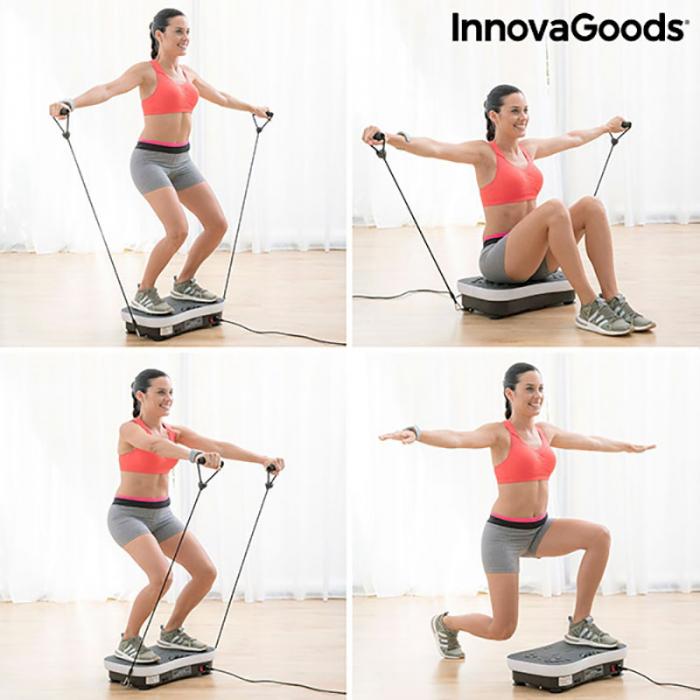 Aparat fitness cu placa vibranta, VYBEFORM 11