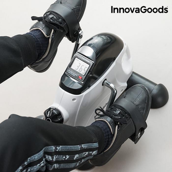 Aparat fitness pentru pedalat cu 5 functii si contor digital 3