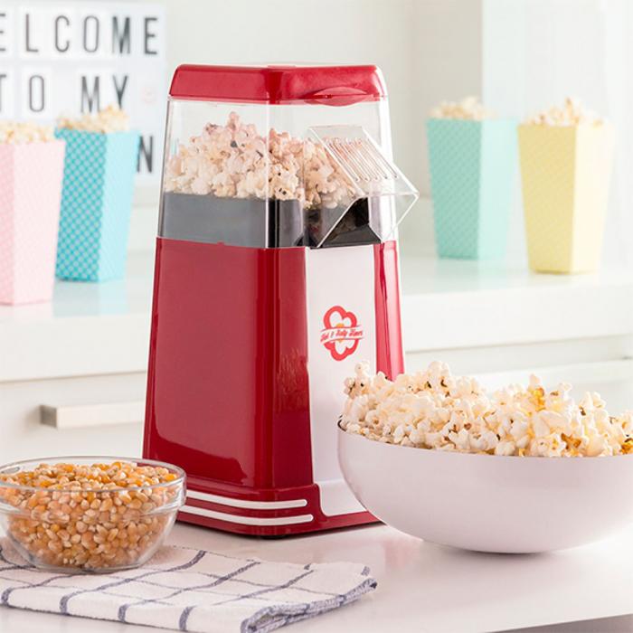 Aparat popcorn fara ulei vintage style [0]