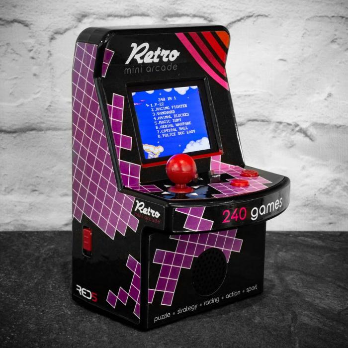 Arcade Game mini retro 240 jocuri 0