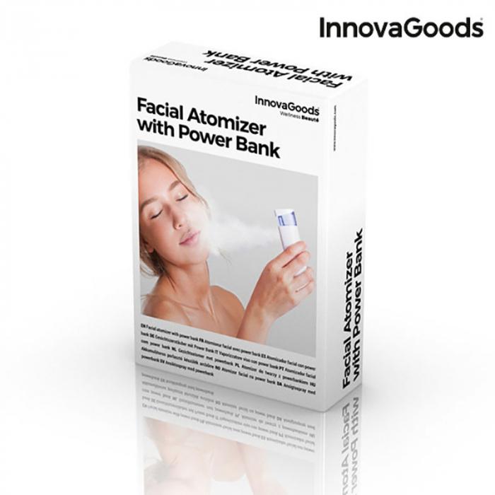 Atomizor facial Wellness cu baterie externa 6