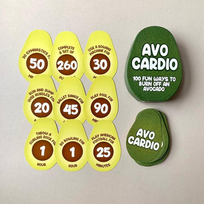 Avo-Cardio, 100 de provocari de fitness [0]
