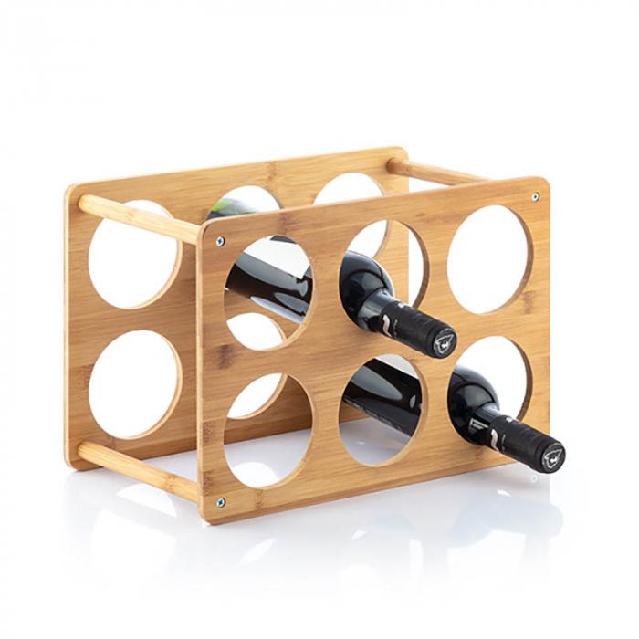 Bamboo Rack pentru 6 sticle de vin 1