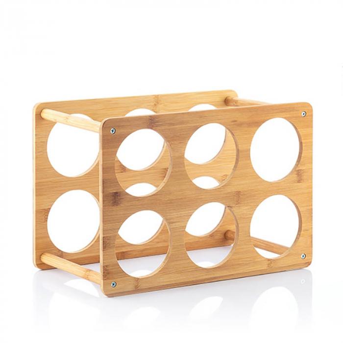 Bamboo Rack pentru 6 sticle de vin 3