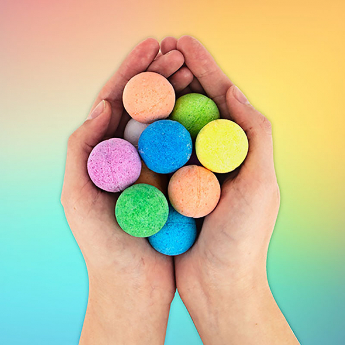 Bath Bombs Rainbow 0