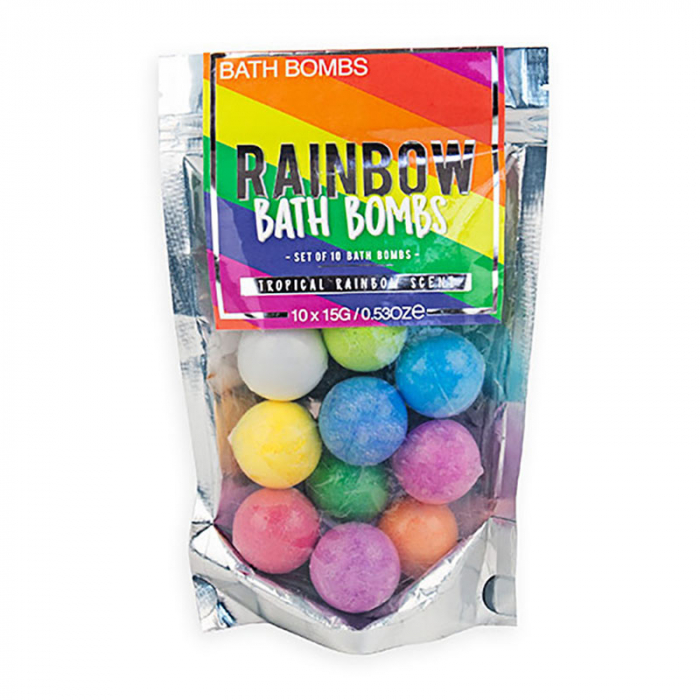 Bath Bombs Rainbow 2