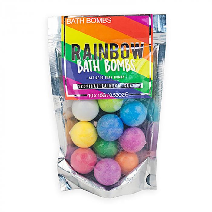 Bath Bombs Rainbow 2