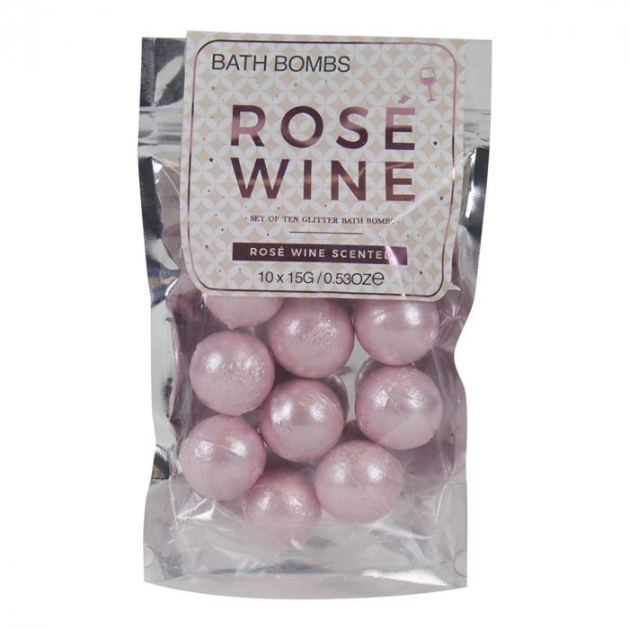 Bath Bombs Rose Wine [4]
