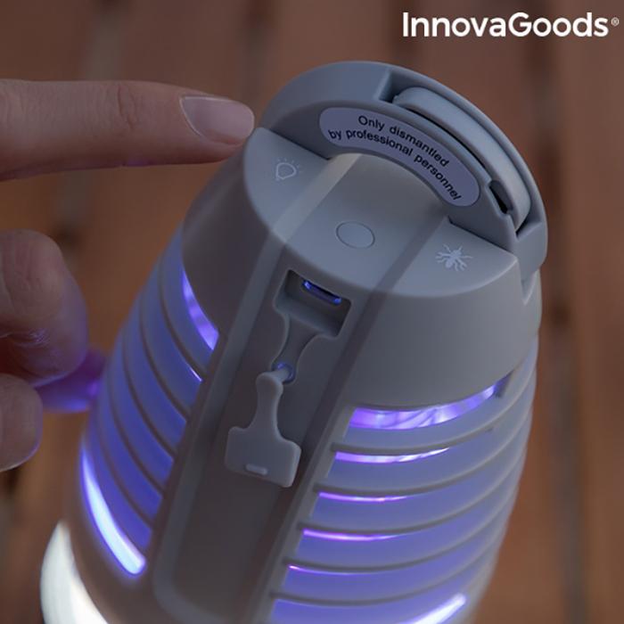 Bec LED anti tantari, portabil [4]