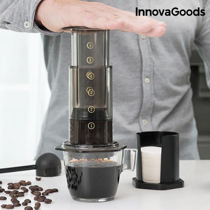 Cafetiera cu presare manuala Delicious Brew 0