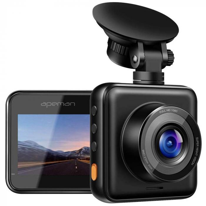 Camera auto DVR Apeman C420, Full HD, G-Sensor, Mod parcare, Filmare in bucla 7