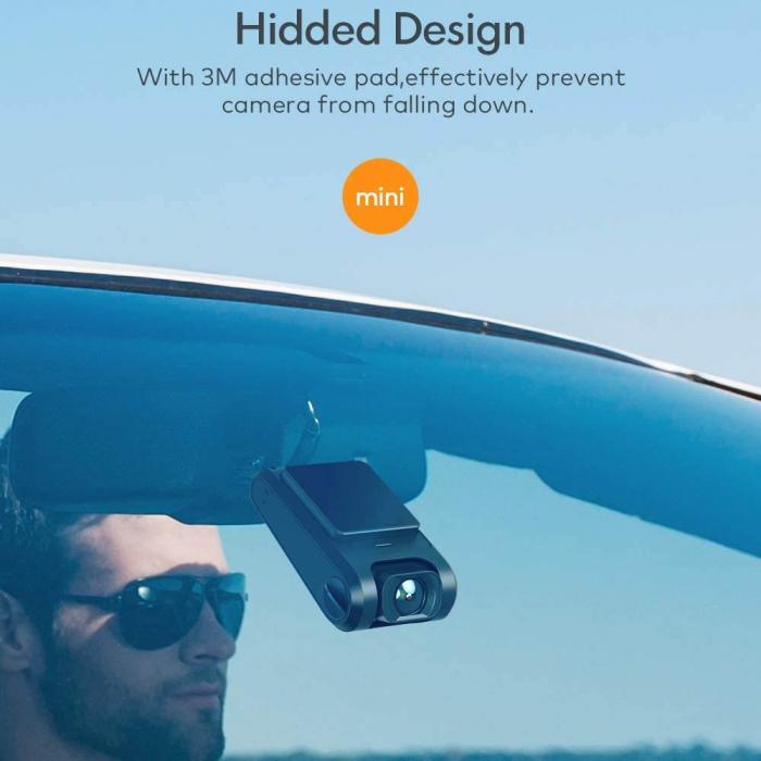 Camera auto DVR Dubla Apeman C550, Full HD, Bord si Spate, Detector miscare, Mod parcare, Filmare in bucla 2