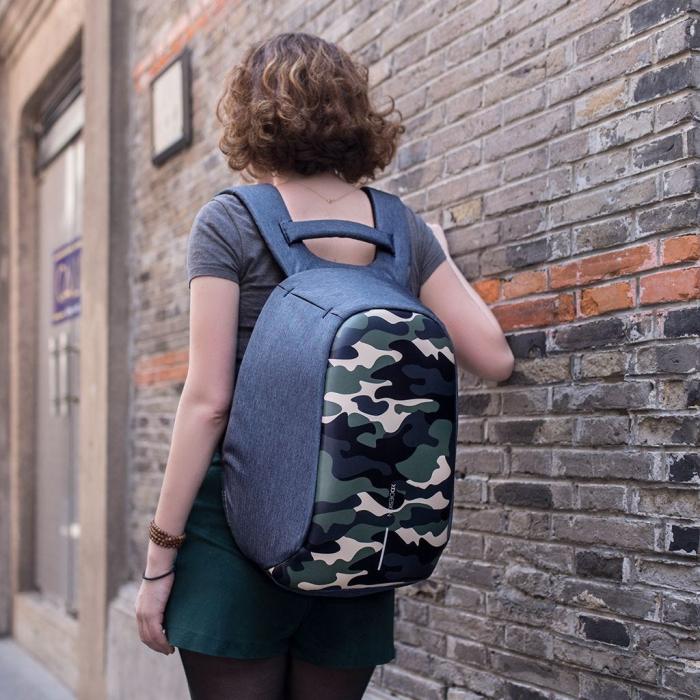 Camouflage Rucsac Bobby antifurt 25