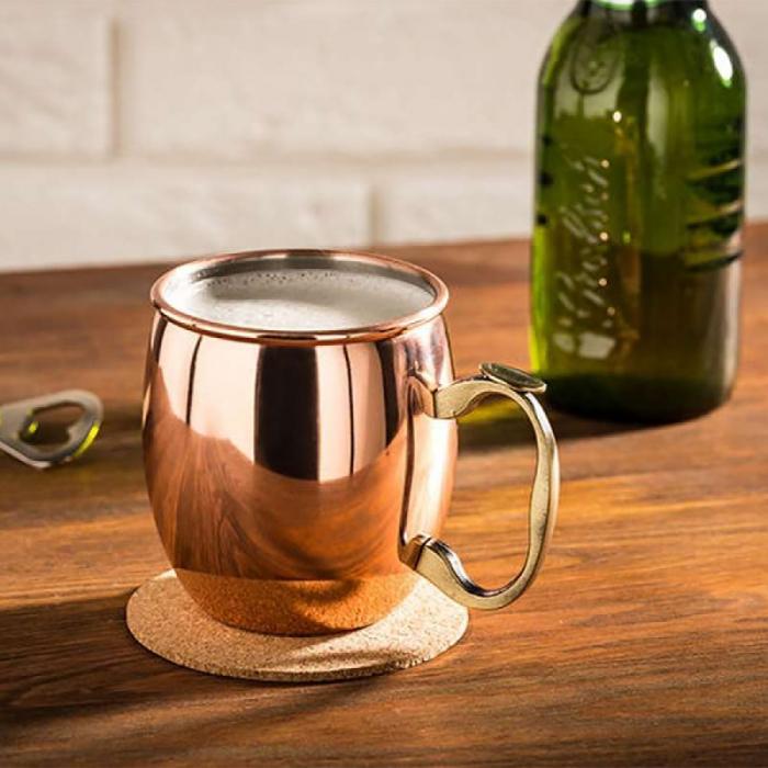 Cana, Halba de bere cupru, 550 ml 0