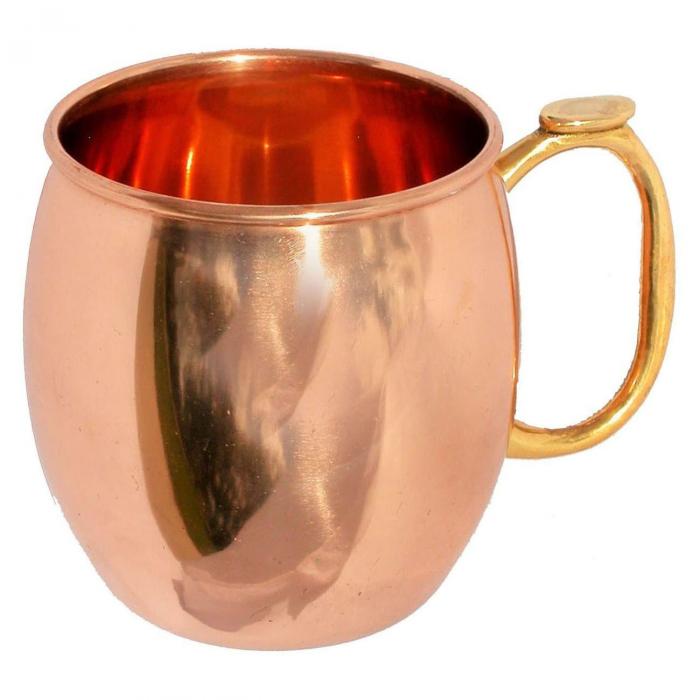 Cana, Halba de bere cupru, 550 ml 2