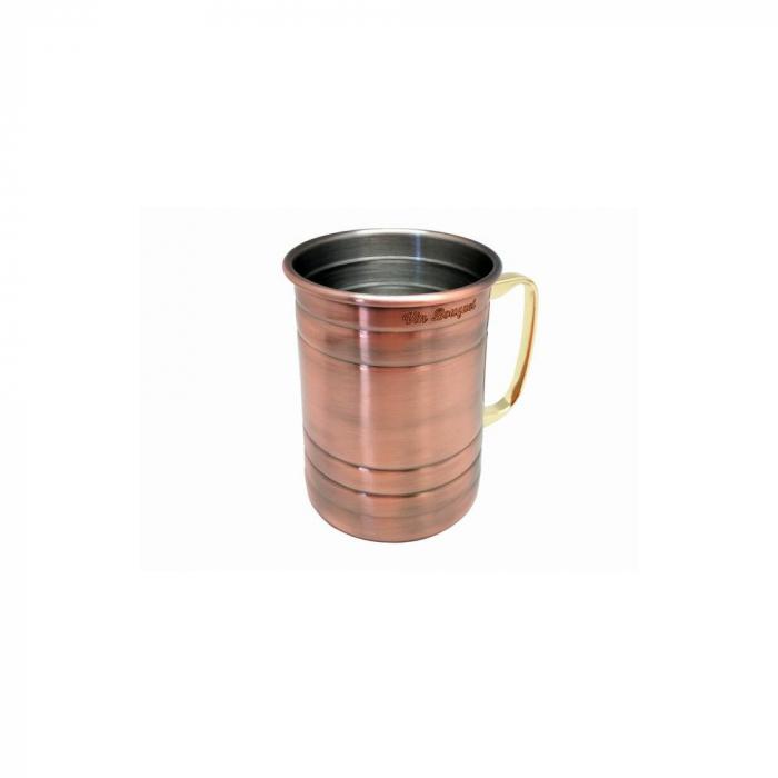 Cana, Halba de bere cupru Vintage, 500 ml 2
